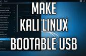 Comment faire une clé USB Bootable Kali Linux 2.0