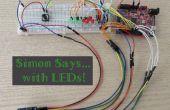 Simon dit à LEDs