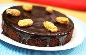 Comment faire le gâteau au chocolat de Dates - recette de gâteau fait maison Dates
