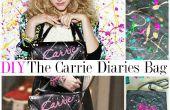 DIY FASHION | Le sac de vernis à ongles Carrie Diaries (fourre-tout)