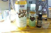 Se laver le visage huile naturelle