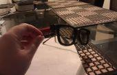 Clip sur lunettes 3D, vert Solution pour myope 3D Movie Enthuseists