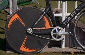 Roue disque carbone pour un vélo de piste sans outillage personnalisé