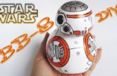 BB 8-Star Wars / mousse, Goma Eva-artisanat bricolage
