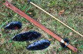 Comment faire un Basketmaker Style PVC Atlatl et Dart