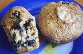 Muffins citrouille de canneberges et bleuets (Haute Altitude)