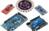 Choisir la bonne carte Arduino :