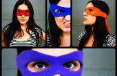 Tutoriel de masque de super-héros + motif