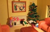Sapin de Noël de cure-pipe