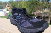 Lacets de chaussures de boucle en plastique