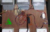 Compteur d'énergie sans fil avec régulateur de charge