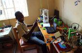Maintenir une petite installation d'impression 3D en Ouganda