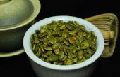 Confit de thé vert graines de citrouille