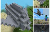 Minecraft-avion de chasse