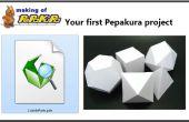 Votre premier projet Pepakura