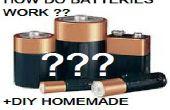 Comment fonctionnent les Batteries ? (+ Batterie maison bricolage)