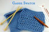 Comment faire, & mesurer une nuance de jauge du tricot !