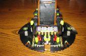 Support de téléphone cellulaire rapide et sale de Legos.