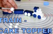 Comment faire la pâte de sucre Fondant Train Cake Toppers