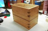 Boîte de compartiment secret avec incrustation argentée