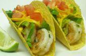 Tacos de crevette facile
