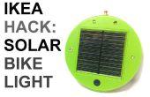 IKEA Hack : Lumière solaire vélo alimenté