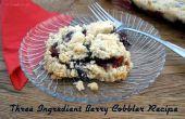 Facile trois ingrédient Berry cordonnier