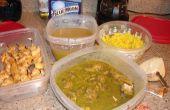 Samoussas de poulet au Curry