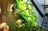 Ultime ferme hydroponique verticale sur le bon marché... Cultures verts loin de cadeau !