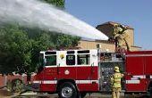 Comment un camion incendie de pompe
