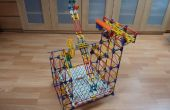 Floor Double Arm Lift, a knex ball machine lift