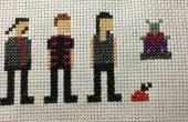 Farscape Cross Stitch : Saison trois personnages (Shana)