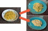 Habillage de fromage et en boîte de macaroni (en 20 minutes ou moins!)