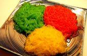 Nouilles de couleurs, pour manger !