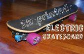 DIY 3D imprimé Electric Skateboard avec 1500 w de puissance !