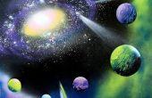 Peindre une galaxie en 30 Minutes