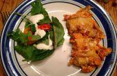 Casserole de poulet Dorito et biscuits sans cuisson--Date de dîner rapide & facile
