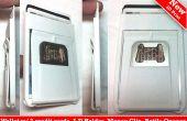 .25 ultra Wallet minimaliste slim, agrafe d'argent, métal décapsuleur, carte de crédit qui peut être attaché à votre cas android