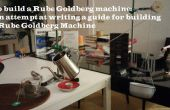 Prototype de Machine de Rube Goldberg