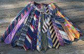 Upcycled Tie jupe !