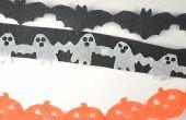 Serpentins de chaîne pour le papier Halloween facile