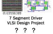 Comment concevoir des sept segment affichage pilote puce sur VLSI consept pour la première fois! ?
