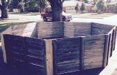 Pit Gaga portable de clôture Repurposed