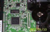 Fixation d'un disque dur Maxtor