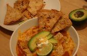 Tortilla Soup deux façons (végétarien ou poulet)