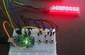 Chronomètre & chrono avec Arduino Nano et Maxi 7219 conduit affichage (8 Dig X 7 Seg)