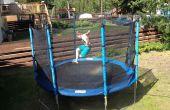 Eau de trampoline parc