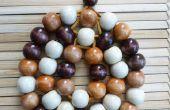 Dessous de plat perle bois