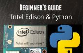 Getting Started with Intel Edison - programmation Python