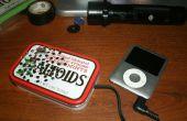 Haut-parleur portable pour ipod avec LEDS!!!